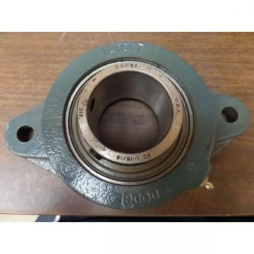 DODGE 2 BOLT FLANGE BEARING 124057 1-1516 BORE