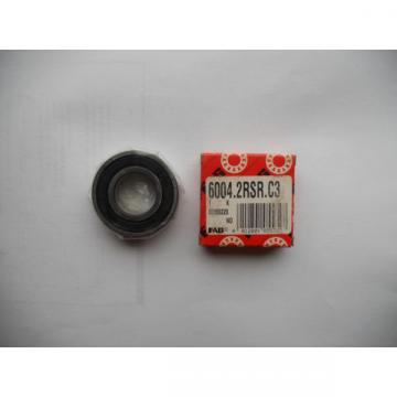 FAG 6004 2RSR C3 Single Row Radial Bearings 20 x 42 x 12 mm 60042RSRC3 ball