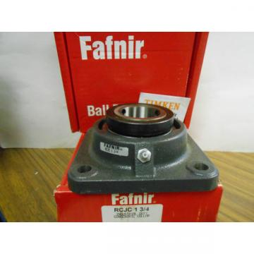 FAFNIR BALL BEARING RCJC 1 34     .... WQ-115
