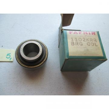 IN BOX FAFNIR DEEP GROOVE BALL BEARING 1102KRR 1102 KRR 1102-KRR  (WL32)