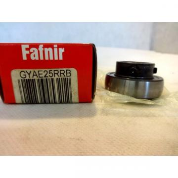 IN BOX FAFNIR GYAE25RRB  BALL BEARING INSERT