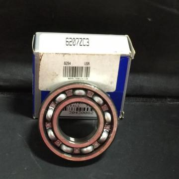 NSK BALL BEARING SEALED SINGLE ROW 35X72X17MM PN6207ZC3