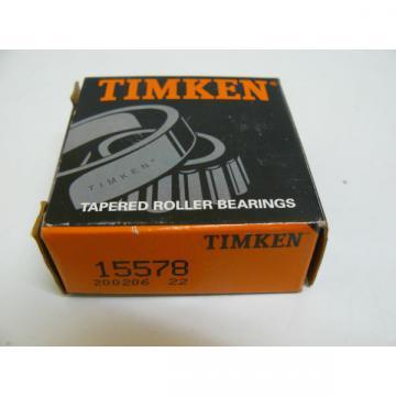 TIMKEN 15578 TAPERED ROLLER  BEARING