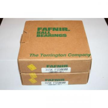 (Lot of 2) Fafnir Torrington 315K Bearings (75 X 160 X 37) 315-K 6315 **  **