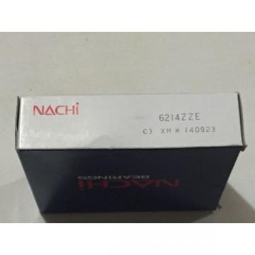 ** 6214ZZE NACHI BALL BEARING 70x125x24 SHIELDED C3