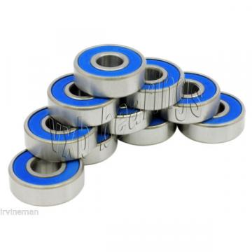 10 Bearing SR12-2RS .750x 1.625x .438 inch Bearings