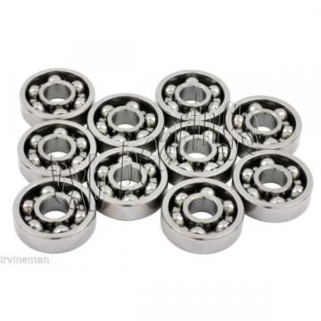 10 S681X Bearing 1.5x4x1.2 Stainless Steel Open Ball Bearings Rolling