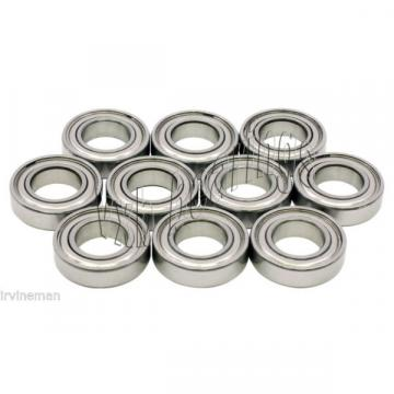 Lot 10 Stainless Steel Shielded Radial Miniature Ball Bearing 5x8x2.5 5mm x 8mm