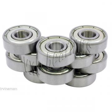 10 Bearing SR1-5ZZ Stainless Steel Shielded 332x516x964 inch 826