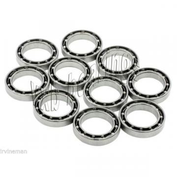 10 Stainless Steel Small Ball Bearings 3x6 mm ABEC-3