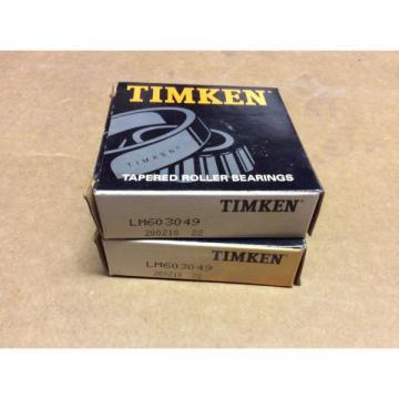2-Timken-BearingLM603049 200210 22Free shipping lower 48 30 day warranty!