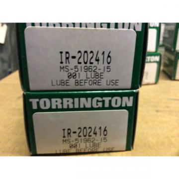 2-Torrington Bearings IR-202416 30day warranty free shipping lower 48!