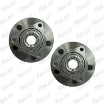 225 515072 PAIR FRONT WHEEL HUB BEARING DODGE RAM 1500 PICKUP 02-08 ABS 4X2 4X4