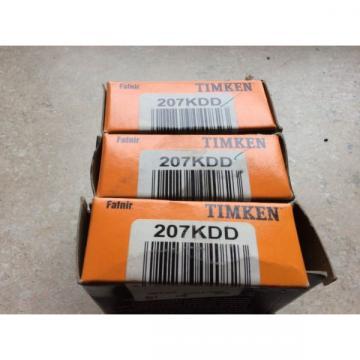 3-Timken bearings 207KDD Free shipping to lower 48 30 day warranty
