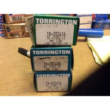 3-Torrington BearingsIR-20241630day warranty free shipping lower 48!