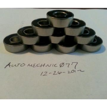 50x  SR6-2RS 38x 78x 932 ABEC 5 Stainless Steel Bearings