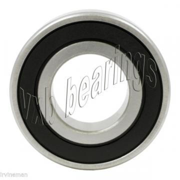 6206-2RS 30mm Bore Hybrid Ceramic Bearing 30x62x16 Nylon Premium ABEC-5