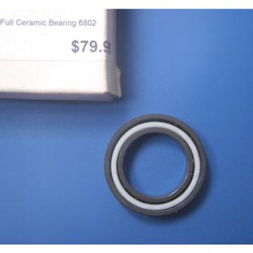 6802 full ceramic bearing Si3N4 like CeramicspeedBocaEndurotuneZippDT Swiss