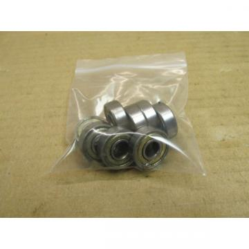 8  NSK 608ZZ BEARING METAL SEALED 608 ZZ 8x22x7 mm (LOT OF 8) SKATE BOARD