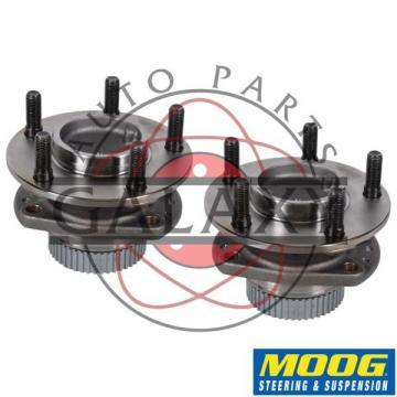 Moog New Rear Hub Bearing Pair For Chrysler Dodge Plymouth Mini-Vans FWD w ABS
