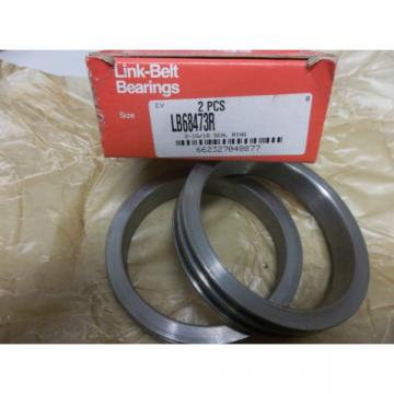 LINK-BELT SEAL RINGS 2 PCS LB68473R  2-1516 SEAL RING