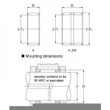 K16X20X17H Needle roller bearings