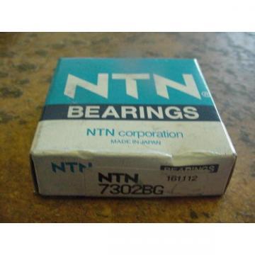 NTN 7302BG Angular Contact Bearing 40 Deg 15mm Bore 42mm OD 13mm WIDE