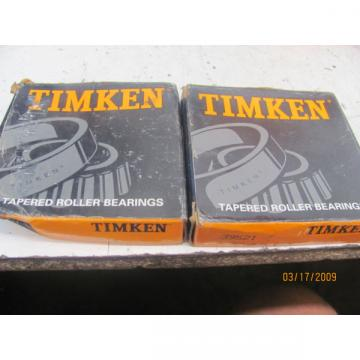 LOT OF 2 Timken 39521 Bearing ID-4 OD-4.43