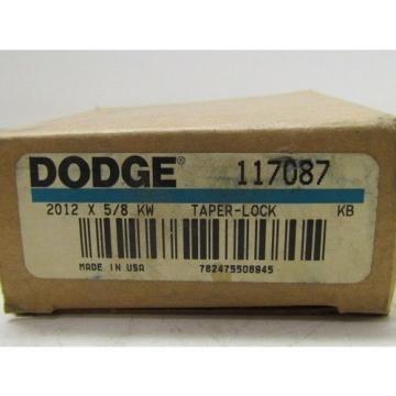 2012x58 KW Tape Lock Bushing 58 Bore 117087 Dodge Browning Martin Woods