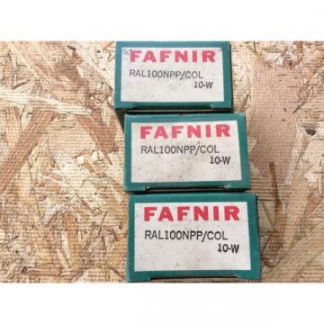 3-FAFNIR-Bearings CatRAL100NPPCOL 10-w comes w30day warranty free shipping