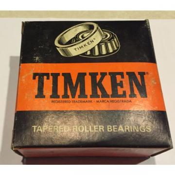 New NOS Timken 563D Double Cup Bearing Tapered Race 565 Made in USA Industrial