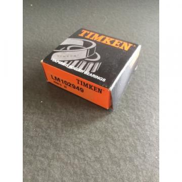 New Timken LM102949 Tapered Roller Bearing 1-34 Bore
