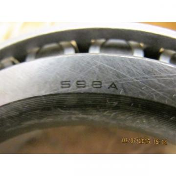 598A Bower Tapered Roller Bearing (3.6250) Fresh in Sealed Military [BB17]