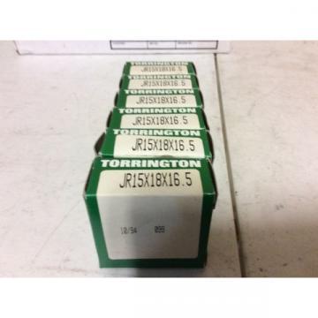6-Torrington BearingsJR15x18x16.5 Free shipping to lower 48 30 day warranty