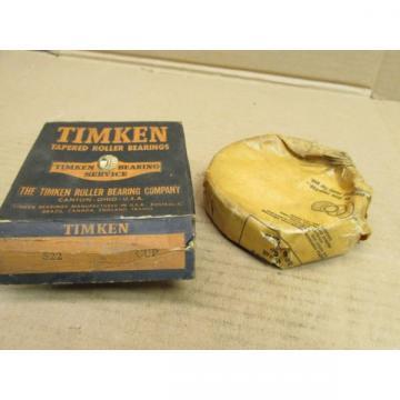 NIB TIMKEN 522 TAPERED ROLLER BEARING CUPRACE 522 4 OD 1-116 Width
