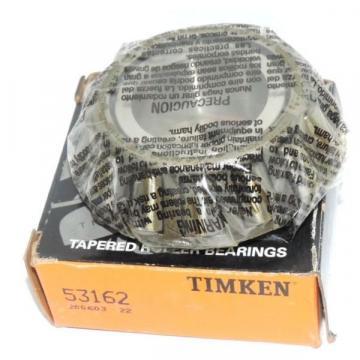 NIB TIMKEN 53162 TAPERED ROLLER BEARING CONE