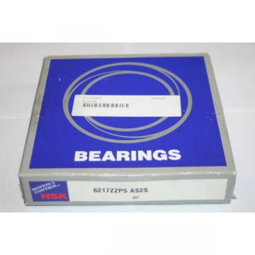 NSK 6217 ZZ.P5 AS2S High Precision Shielded Deep Groove Bearing  *  *
