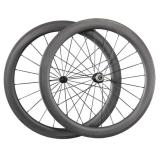 25mm Width Ceramic Bearing Wheels 60mm depth Clincher carbon road race wheelset