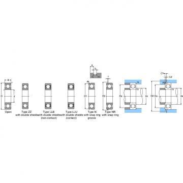 6204LLU/LP03 NTN SPHERICAL ROLLER BEARINGS