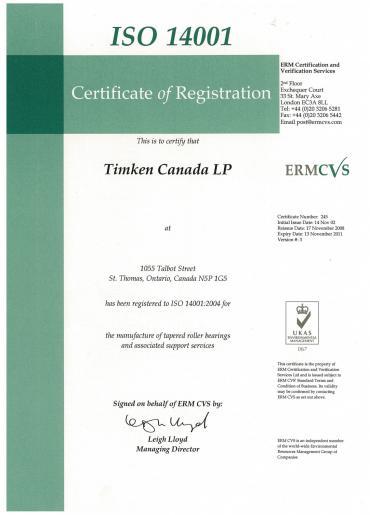 Timken Canada LP